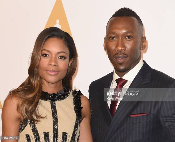 Actress Naomie Harris and actor Mahershala Ali attend the 89th Annual Academy Awards Nominee Luncheon at The Beverly Hilton Hotel on February 6 2017...