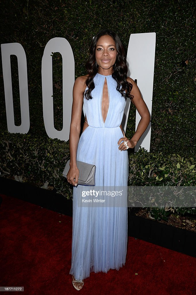 Actress <a gi-track='captionPersonalityLinkClicked' href=/galleries/search?phrase=Naomie+Harris&family=editorial&specificpeople=238918 ng-click='$event.stopPropagation()'>Naomie Harris</a> arrives for the premiere of The Weinstein Company's 'Mandela: Long Walk To Freedom' at ArcLight Cinemas on November 11, 2013 in Hollywood, California.