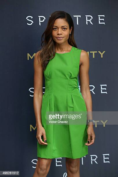 Actress Naomie Harris attends a photo call to promote the new film 'Spectre' on November 1 2015 in Mexico City Mexico