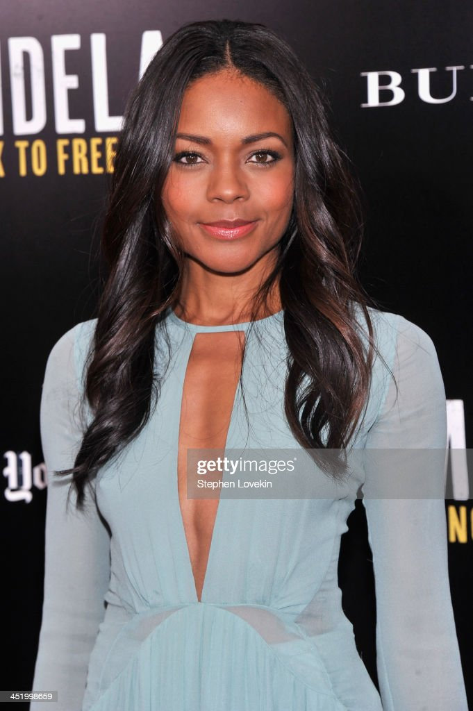 Actress <a gi-track='captionPersonalityLinkClicked' href=/galleries/search?phrase=Naomie+Harris&family=editorial&specificpeople=238918 ng-click='$event.stopPropagation()'>Naomie Harris</a> attends a screening of 'Mandela: Long Walk to Freedom', hosted by U2, Anna Wintour and Bob & Harvey Weinstein, with Burberry at the Ziegfeld Theater on November 25, 2013 in New York City.