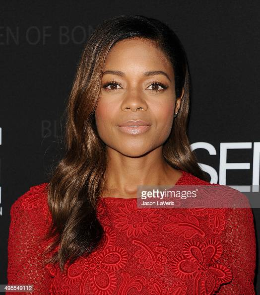 Actress Naomie Harris attends 'Spectre' The Black Women of Bond Tribute at California African American Museum on November 3 2015 in Los Angeles...
