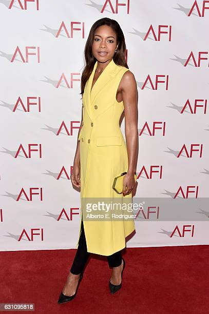 Actress Naomie Harris attends the 17th annual AFI Awards at Four Seasons Los Angeles at Beverly Hills on January 6 2017 in Los Angeles California