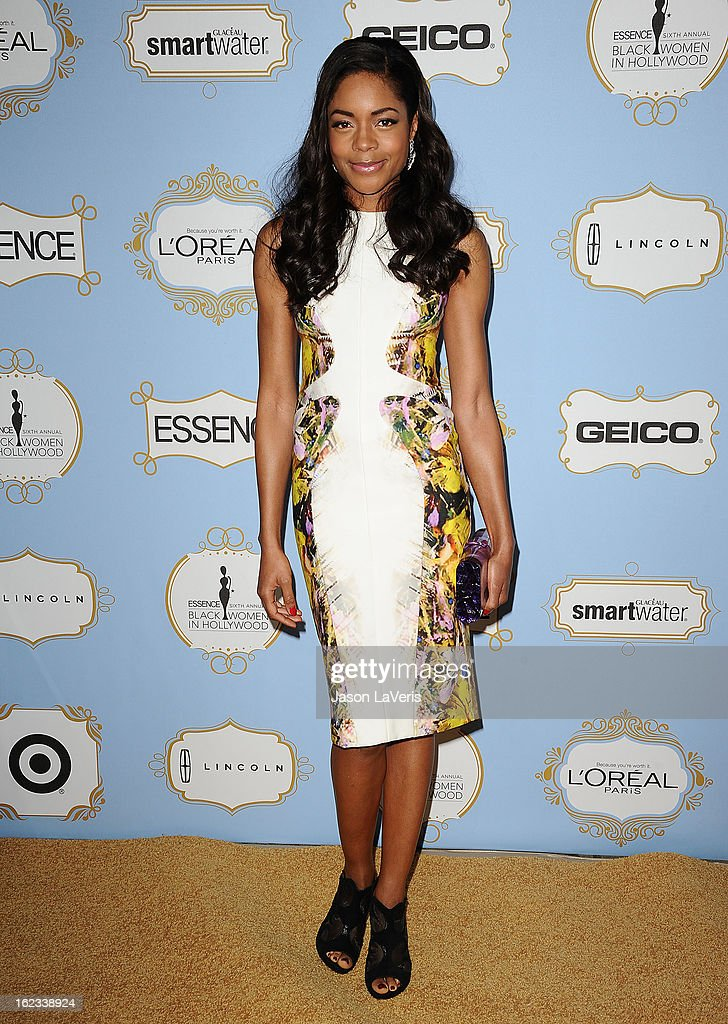 Actress <a gi-track='captionPersonalityLinkClicked' href=/galleries/search?phrase=Naomie+Harris&family=editorial&specificpeople=238918 ng-click='$event.stopPropagation()'>Naomie Harris</a> attends the 6th annual ESSENCE Black Women In Hollywood awards luncheon at Beverly Hills Hotel on February 21, 2013 in Beverly Hills, California.