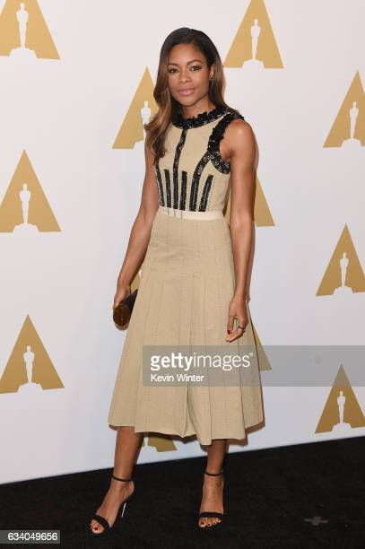 Actress Naomie Harris attends the 89th Annual Academy Awards Nominee Luncheon at The Beverly Hilton Hotel on February 6 2017 in Beverly Hills...