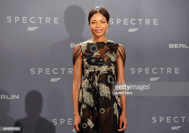 Actress Naomie Harris attends the German premiere of the new James Bond movie 'Spectre' at CineStar on October 28 2015 in Berlin Germany