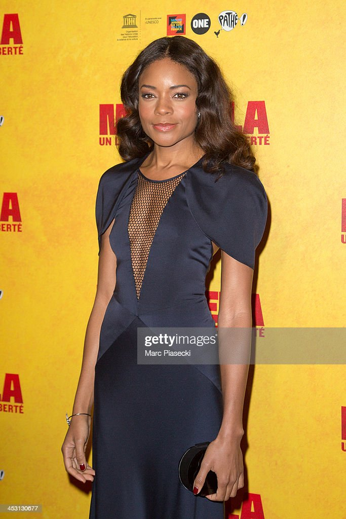 Actress <a gi-track='captionPersonalityLinkClicked' href=/galleries/search?phrase=Naomie+Harris&family=editorial&specificpeople=238918 ng-click='$event.stopPropagation()'>Naomie Harris</a> attends the 'Mandela: Long Walk to Freedom' Paris premiere at UNESCO on December 2, 2013 in Paris, France.