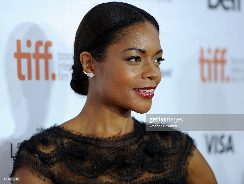 Actress Naomie Harris attends the 'Mandela: Long Walk To Freedom' premiere during the 2013 Toronto International Film Festival at Roy Thomson Hall on September 7, 2013 in Toronto, Canada.