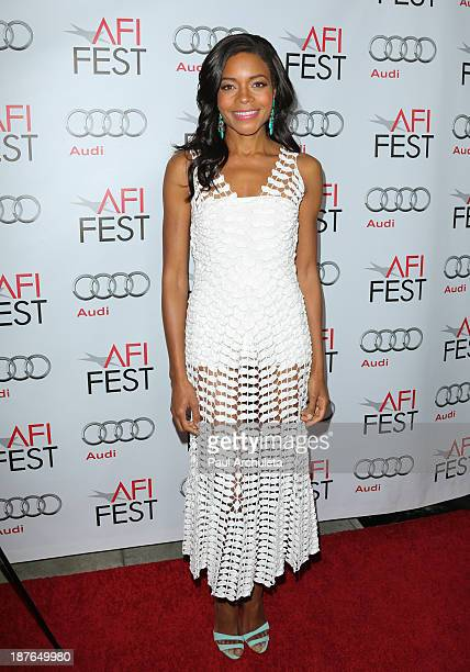 Actress Naomie Harris attends the premiere of 'Mandela Long Walk To Freedom' at AFI FEST 2013 at American Cinematheque's Egyptian Theatre on November...