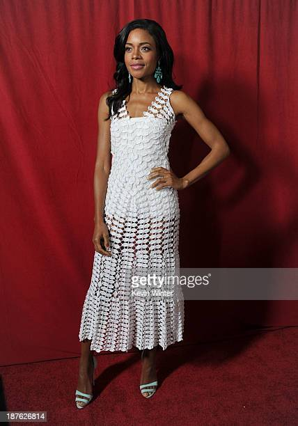 Actress Naomie Harris attends the premiere of The Weinstein Company's 'Mandela Long Walk To Freedom' during AFI FEST 2013 presented by Audi at the...