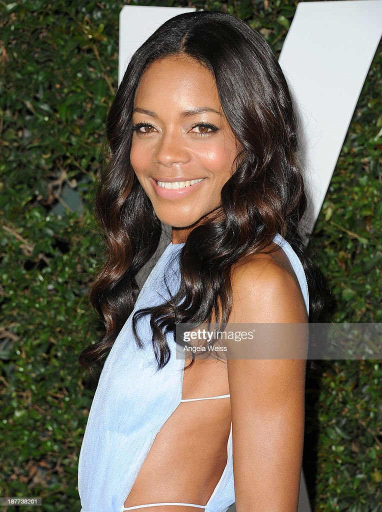Actress <a gi-track='captionPersonalityLinkClicked' href=/galleries/search?phrase=Naomie+Harris&family=editorial&specificpeople=238918 ng-click='$event.stopPropagation()'>Naomie Harris</a> attends the premiere of The Weinstein Company's 'Mandela: Long Walk To Freedom' at ArcLight Cinemas Cinerama Dome on November 11, 2013 in Hollywood, California.