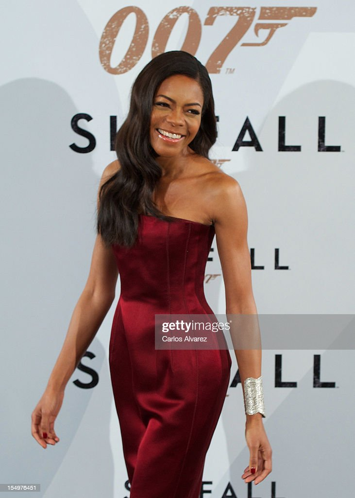 Actress Naomie Harris attends the 'Skyfall' photocall at the Villamagna Hotel on October 29, 2012 in Madrid, Spain.