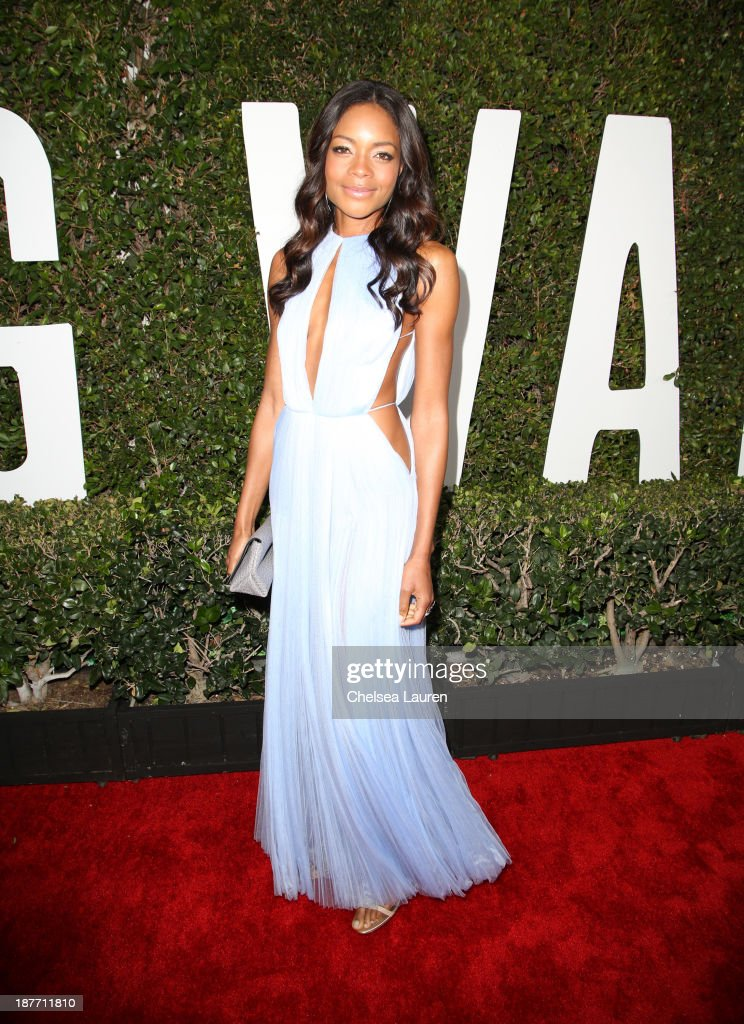 Actress <a gi-track='captionPersonalityLinkClicked' href=/galleries/search?phrase=Naomie+Harris&family=editorial&specificpeople=238918 ng-click='$event.stopPropagation()'>Naomie Harris</a> attends 'The Weinstein Company Presents The LA Premiere Of 'Mandela: Long Walk To Freedom' Supported By Burberry' at ArcLight Hollywood Cinerama Dome on November 11, 2013 in Los Angeles, California.