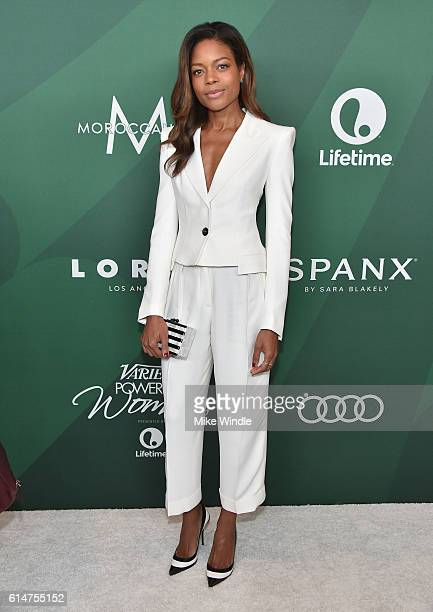 Actress Naomie Harris attends Variety's Power of Women Luncheon 2016 at the Beverly Wilshire Four Seasons Hotel on October 14 2016 in Beverly Hills...