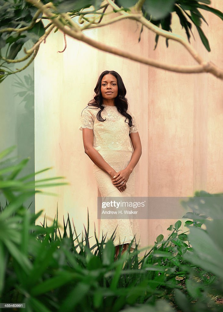 Actress <a gi-track='captionPersonalityLinkClicked' href=/galleries/search?phrase=Naomie+Harris&family=editorial&specificpeople=238918 ng-click='$event.stopPropagation()'>Naomie Harris</a> during a portrait session at the 10th Annual Dubai International Film Festival held at the Madinat Jumeriah Complex on December 12, 2013 in Dubai, United Arab Emirates.
