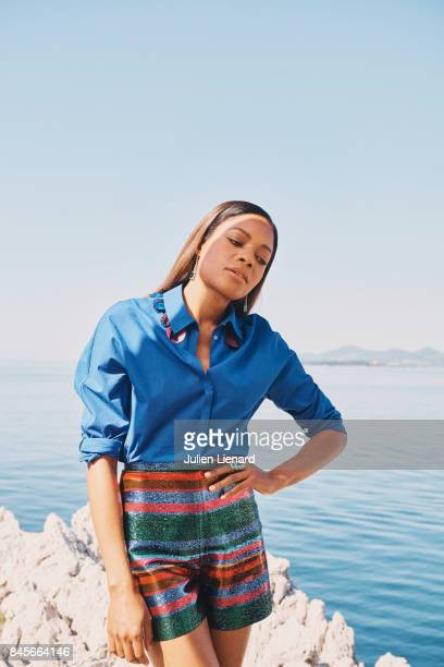 Actress Naomie Harris is photographed for Self Assignment on May 17 2017 in Cannes France