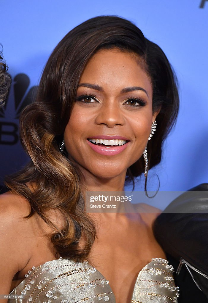 Actress Naomie Harris poses in the press room during the 74th Annual Golden Globe Awards at The Beverly Hilton Hotel on January 8, 2017 in Beverly Hills, California.