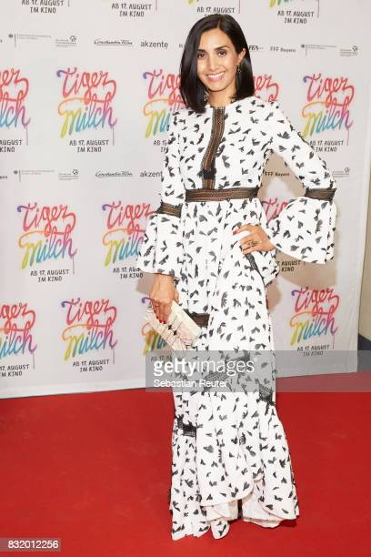 Actress Narges Rashidi attends the 'Tigermilch' premiere at Kino in der Kulturbrauerei on August 15 2017 in Berlin Germany