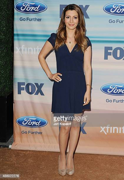 Actress Nasim Pedrad arrives at the 2014 FOX Fall EcoCasino Party at The Bungalow on September 8 2014 in Santa Monica California