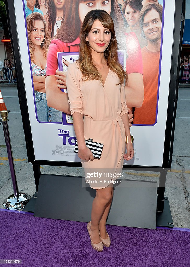 Actress Nasim Pedrad attends the premiere of CBS Films' 'The To Do List' on July 23, 2013 in Westwood, California.