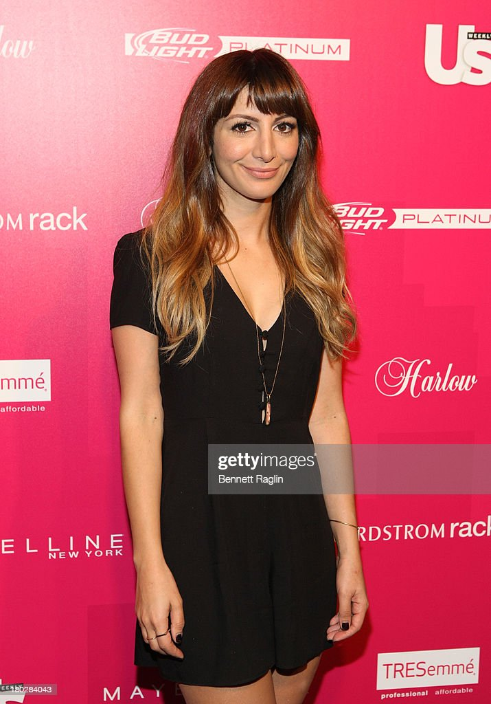 Actress <a gi-track='captionPersonalityLinkClicked' href=/galleries/search?phrase=Nasim+Pedrad&family=editorial&specificpeople=6229850 ng-click='$event.stopPropagation()'>Nasim Pedrad</a> attends the Us Weekly's Most Stylish New Yorkers Party at Harlow on September 10, 2013 in New York City.