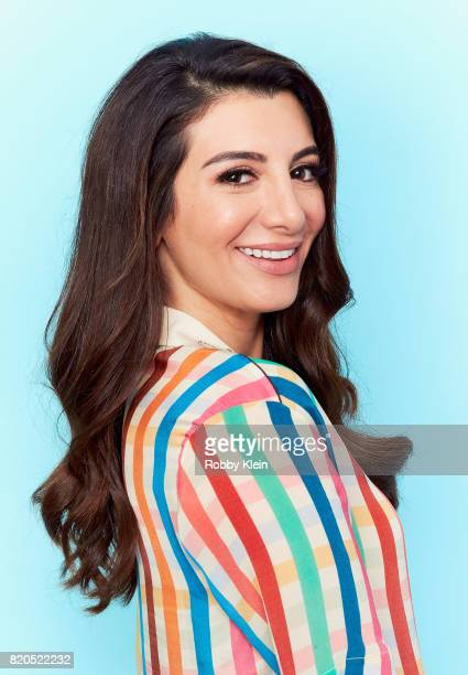 Actress Nasim Pedrad from TBS' 'People of Earth' poses for a portrait during ComicCon 2017 at Hard Rock Hotel San Diego on July 21 2017 in San Diego...