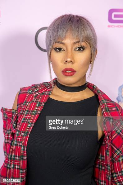 Actress Nastassia Smith arrives at the Blac Chyna Birthday Celebration And Unveiling Of Her 'Chymoji' Emoji Collection at the Hard Rock Cafe on May...