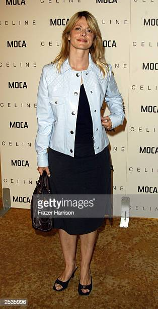 Actress Nastassja Kinski arrives at the Museum of Contemporary Art [MOCA] Distinguished Women In The Arts Luncheon honoring Yoko Ono held at the...