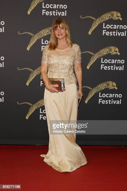 Actress Nastassja Kinski attends a red carpet during the 70th Locarno Film Festival on August 3 2017 in Locarno Switzerland