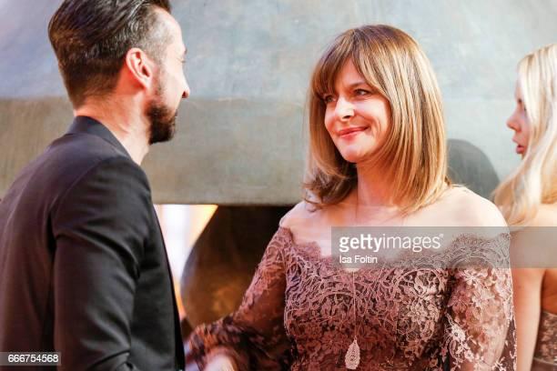Actress Nastassja Kinski attends the premiere of the musical 'Der Gloeckner von Notre Dame' on April 9 2017 in Berlin Germany