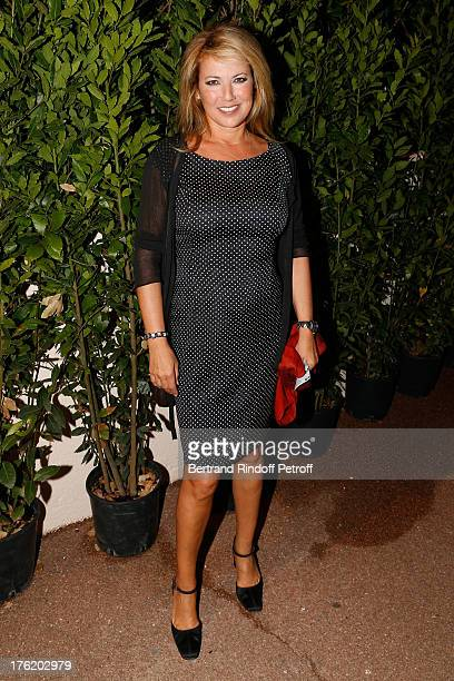 Actress Natacha Amal attends 'Le Roi se meurt' on the last day of the 29th Ramatuelle Festival on August 11 2013 in Ramatuelle France