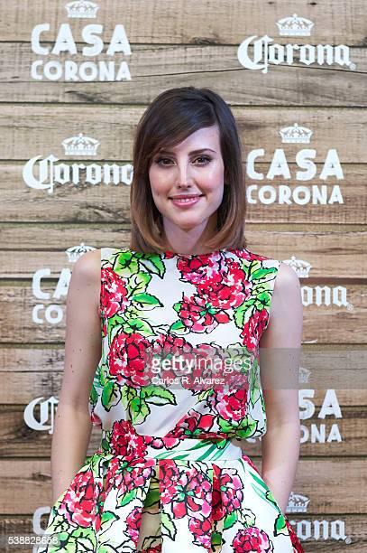 Actress Natalia de Molina attends 'Casa Corona' inauguration on June 8 2016 in Madrid Spain