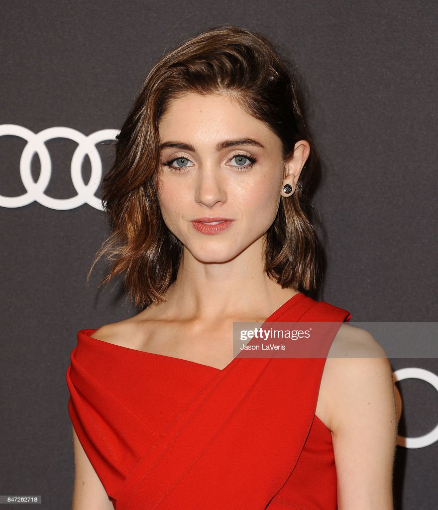 Actress Natalia Dyer attends the Audi celebration for the 69th Emmys at The Highlight Room at the Dream Hollywood on September 14, 2017 in Hollywood, California.