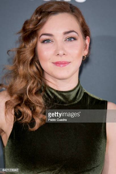 Actress Natalia Rodriguez attends the 'Yo Dona' Party that inaugurates MercedesBenz Fashion Week Madrid Autumn/ Winter 2017 at Barcelo Torre de...