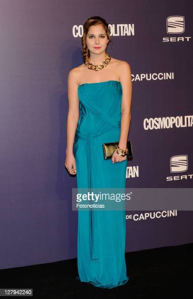 Actress Natalia Sanchez attends 'Cosmopolitan Fun Fearless Female' Awards 2011 at the Ritz Hotel on October 3 2011 in Madrid Spain