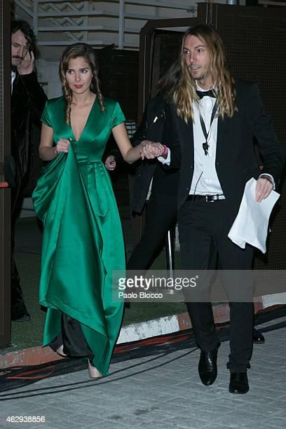 Actress Natalia Sanchez attends Goya Cinema Awards 2015 at Centro de Congresos Principe Felipe on February 7 2015 in Madrid Spain