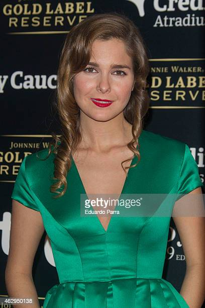 Actress Natalia Sanchez attends Goya Cinema Awards after party 2015 at Centro de Congresos Principe Felipe on February 7 2015 in Madrid Spain