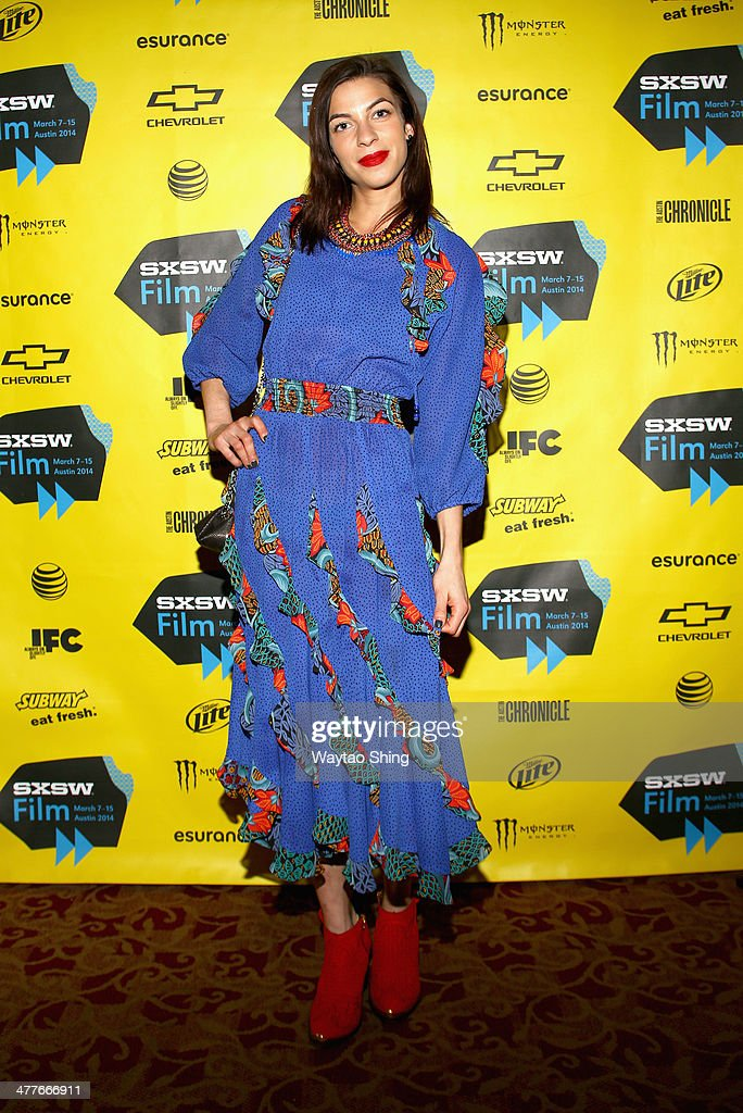 Actress Natalia Tena attends the '10,000KM (Long Distance)' Photo Op and Q&A during the 2014 SXSW Music, Film + Interactive Festival at Alamo Ritz on March 10, 2014 in Austin, Texas.