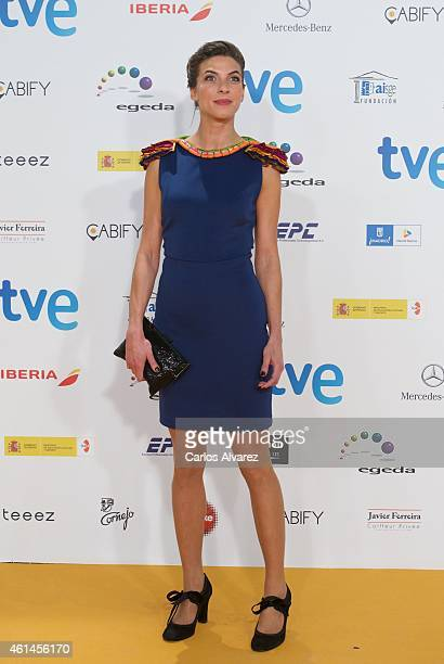 Actress Natalia Tena attends the 20th Jose Maria Forque cinema awards at the Palacio Municipal de congresos on January 12 2015 in Madrid Spain