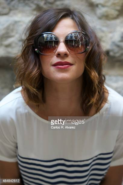 Actress Natalia Tena attends the 'Refugiados' photocall during the 6th FesTVal Television Festival 2014 day 3 at the Villa Suso Palace on September 3...