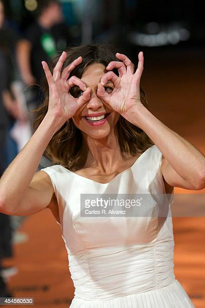 Actress Natalia Tena attends the 'Refugiados' premiere during the 6th FesTVal Television Festival 2014 day 3 at the Principal Theater on September 3...