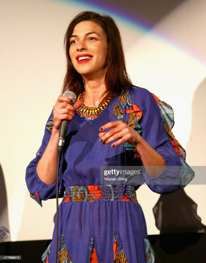 Actress <a gi-track='captionPersonalityLinkClicked' href=/galleries/search?phrase=Natalia+Tena&family=editorial&specificpeople=4356716 ng-click='$event.stopPropagation()'>Natalia Tena</a> speaks onstage at the '10,000KM (Long Distance)' Photo Op and Q&A during the 2014 SXSW Music, Film + Interactive Festival at Alamo Ritz on March 10, 2014 in Austin, Texas.