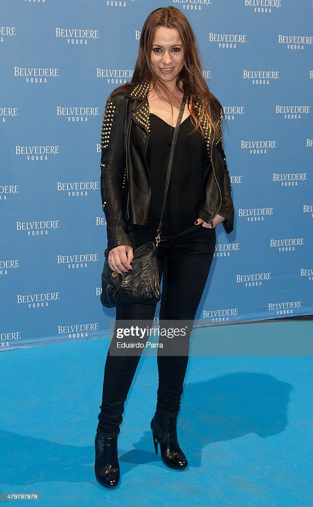 Actress Natalia Verbeke attends Belvedere Vodka party photocall at Principe Pio train station on March 20, 2014 in Madrid, Spain.