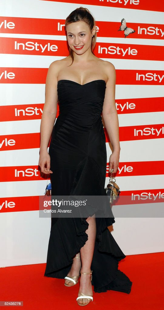 Actress Natalia Verbeke attends the In Style Gala Dinner at La Riviera Club on March 16, 2005 in Madrid, Spain.