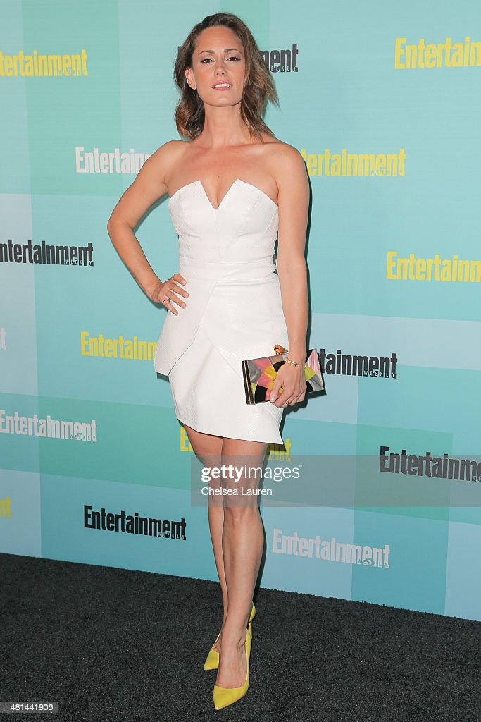 Actress Natalie Brown arrives at the Entertainment Weekly celebration at Float at Hard Rock Hotel San Diego on July 11, 2015 in San Diego, California.