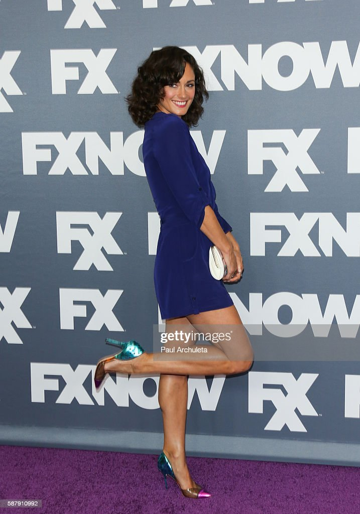 Actress Natalie Brown attends FX Networks TCA 2016 Summer Press Tour on August 9, 2016 in Beverly Hills, California.