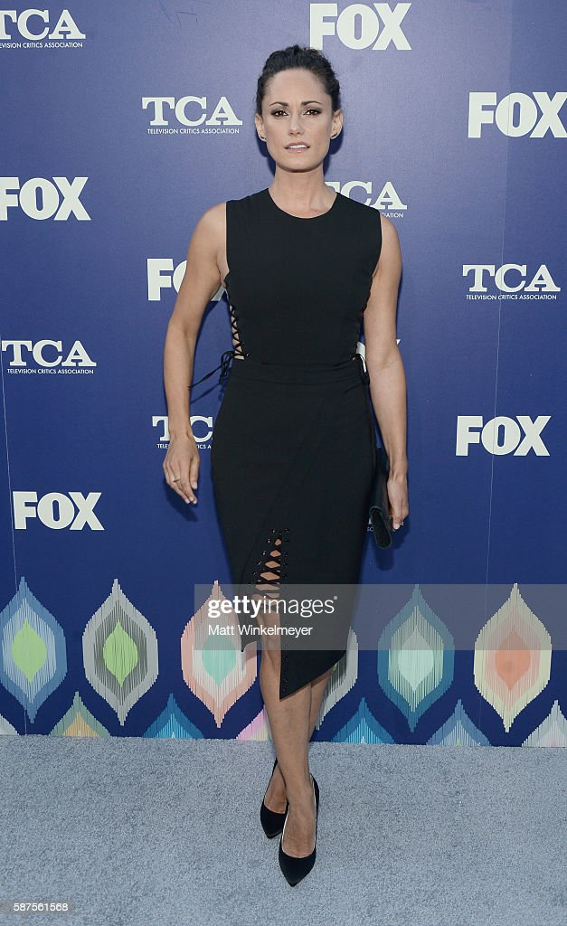 Actress Natalie Brown attends the FOX Summer TCA Press Tour on August 8, 2016 in Los Angeles, California.