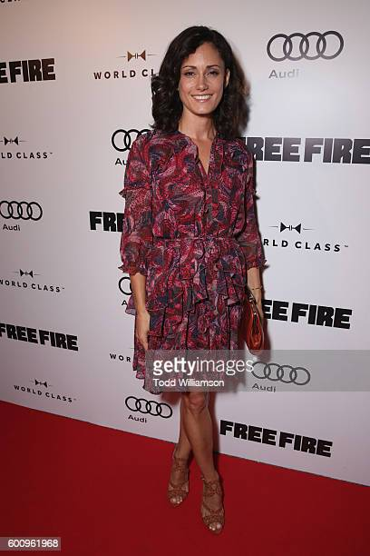 Actress Natalie Brown attends the 'Free Fire' premiere screening party hosted by Bulleit at Early Mercy on September 8 2016 in Toronto Canada