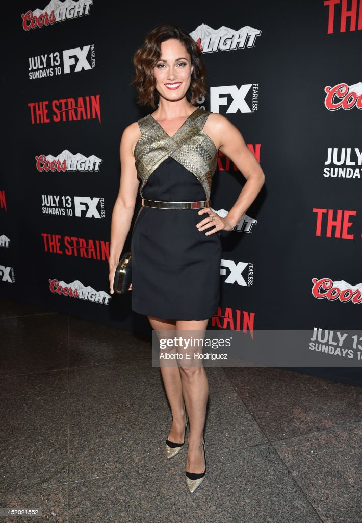 "Premiere Of FX's ""The Strain"" - Red Carpet"