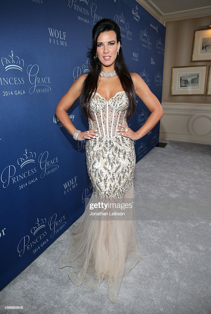 Actress Natalie Burn attends the 2014 Princess Grace Awards Gala with presenting sponsor Christian Dior Couture at the Beverly Wilshire Four Seasons Hotel on October 8, 2014 in Beverly Hills, California.