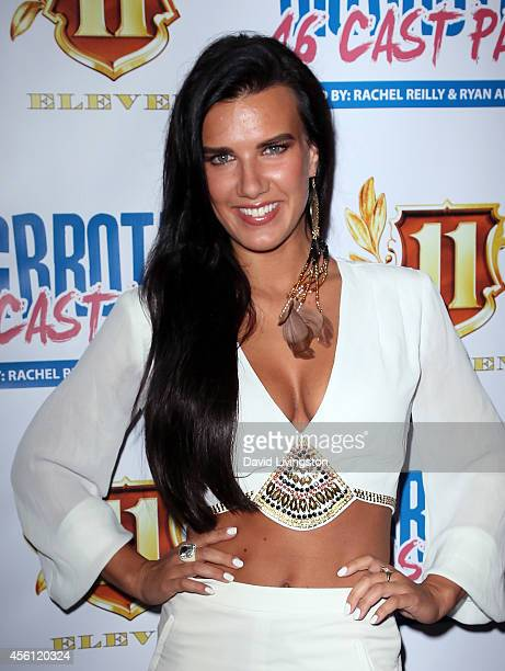 Actress Natalie Burn attends the 'Big Brother 16' Red Carpet Finale Party at Eleven NightClub on September 25 2014 in West Hollywood California